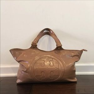 Auth TORY BURCH TAN COLORED BAG